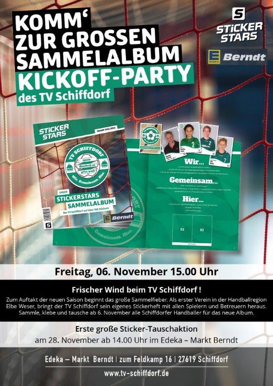 Sammelalbum Kickoff Party