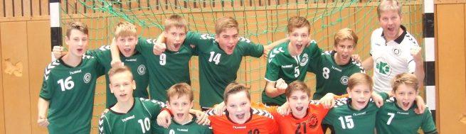 Männliche C-Jugend aus Meisterschaftskurs