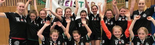 D2-Mädels: ungeschlagen Meister in der Regionsliga!